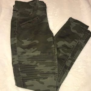 love, Fire Camouflage Pants